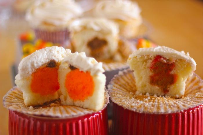 Fun Fall Cupcakes