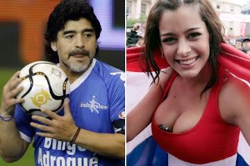 Larissa Riquelme: 'Yo con Maradona, ni en pedo'