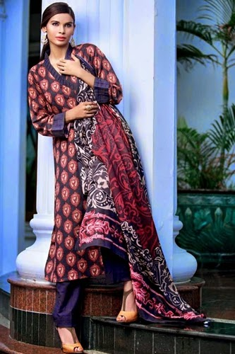 gul ahmed cotton suits 2014-15