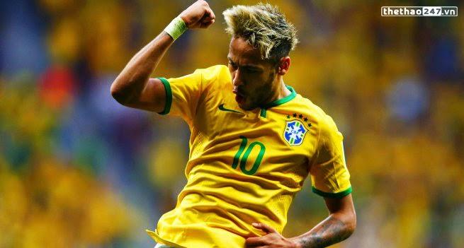 Neymar được ghi tên vào sách kỷ lục Guinness