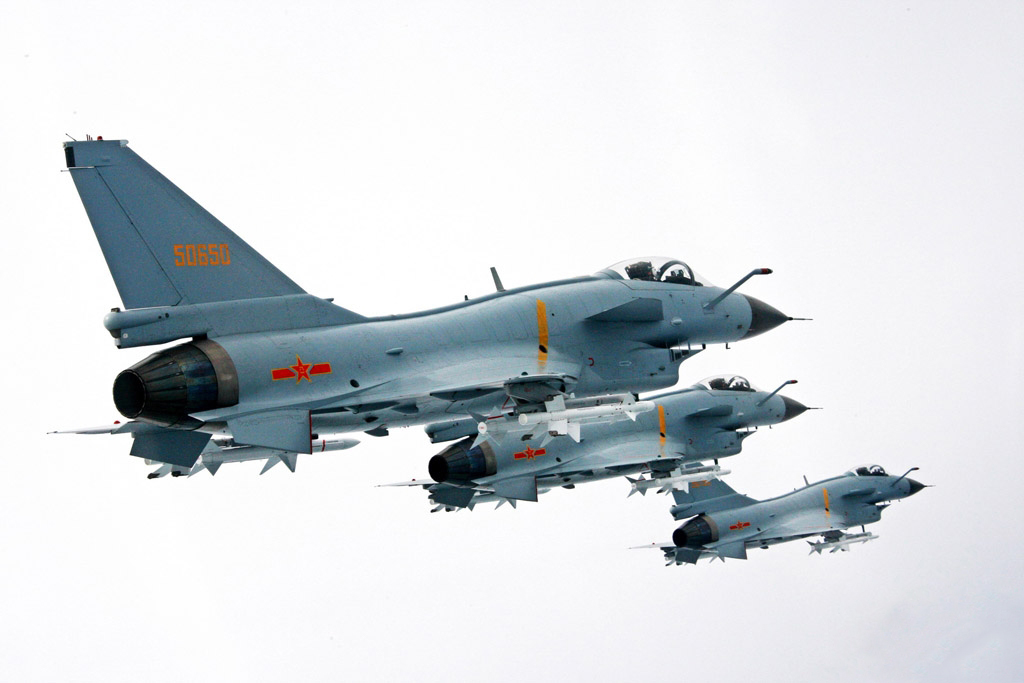 PLAAF J-10A Multirole Fighter Jets with BVR Missiles | Global Military Review