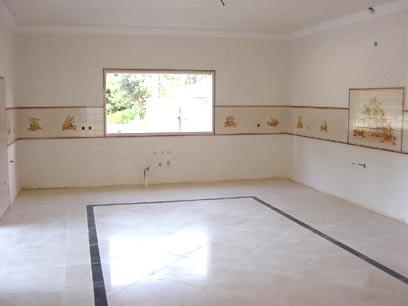 piso+ +3 Piso de Cerâmica na Sala
