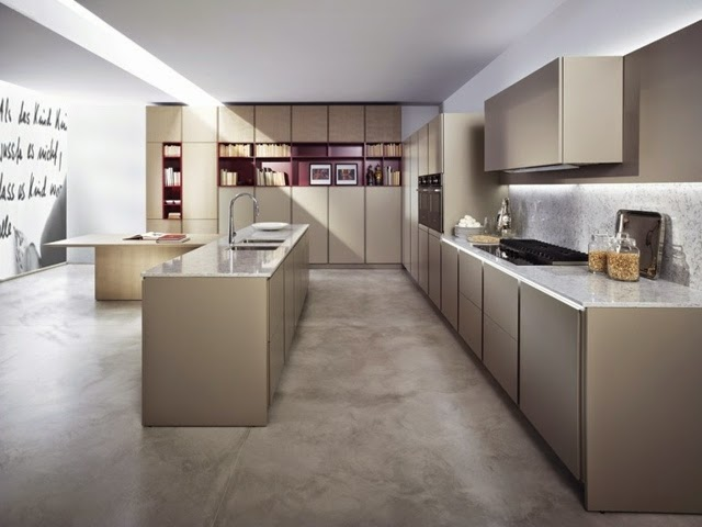 15 elegant minimalist kitchen designs with modern kitchen furniture Modern elegant kitchen design