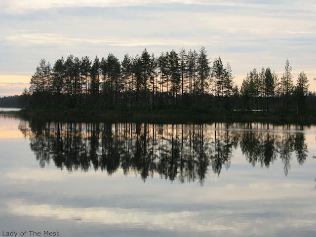 auringonlasku, sunset, summer in Finland, Suomen kesä