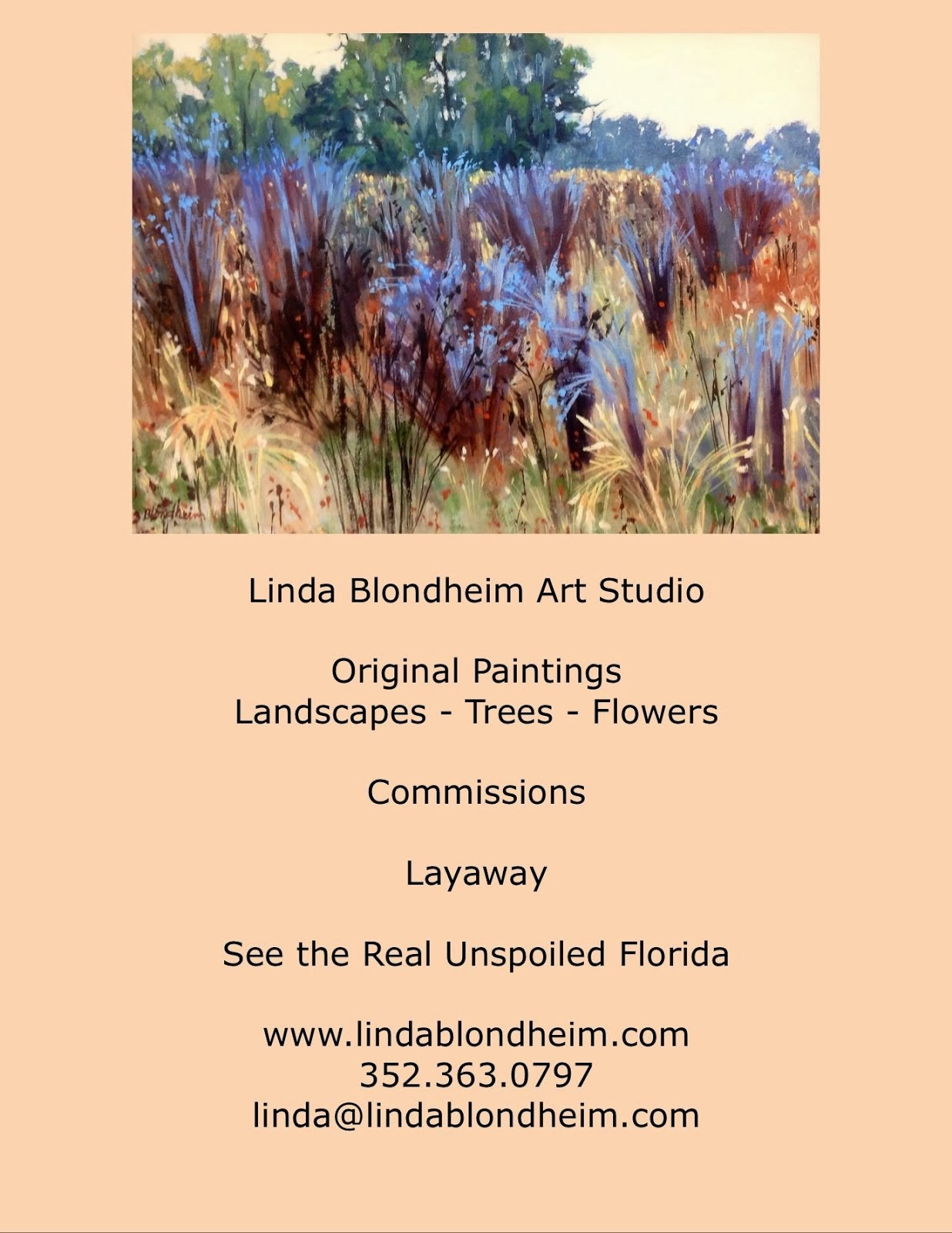 Linda Blondheim Art Studio