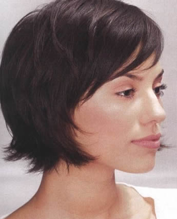 gorgeous short messy hairstyles for women in 2012