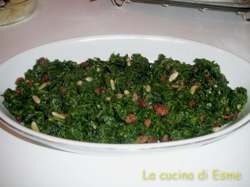 La cucina di esme gli spinaci festaioli - La cucina di esme ...