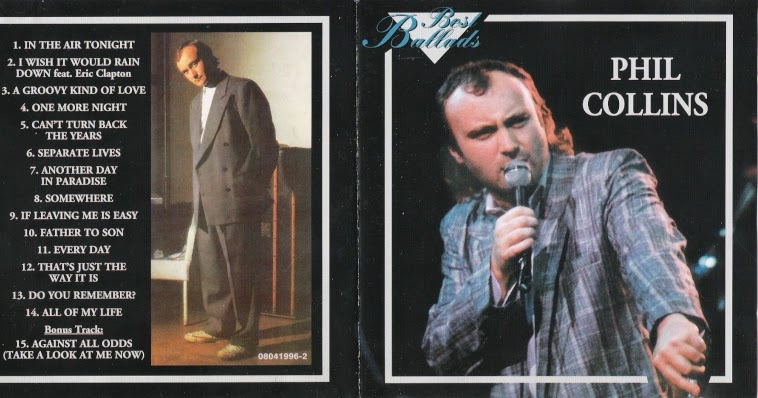Phil Collins Take A Look At Me Now The Complete Studio Collection (2017)