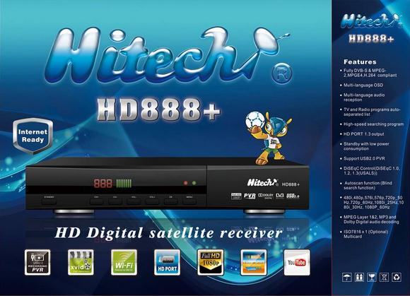 HITECH HD 888 +