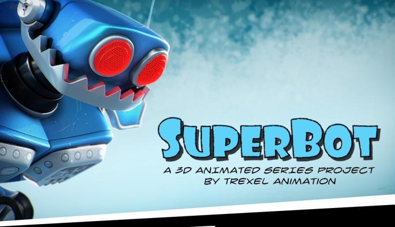 SuperBot, un corto animado desarrollado por Trexel Animation.