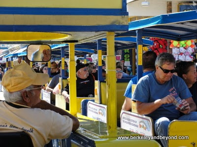 tram car ride at Wildwood Boardwalk in North Wildwood, New Jersey