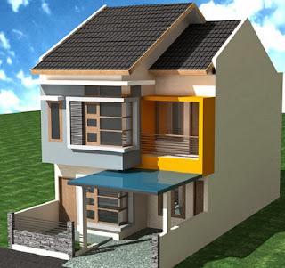 30 Desain Rumah Minimalis Modern 2 Lantai
