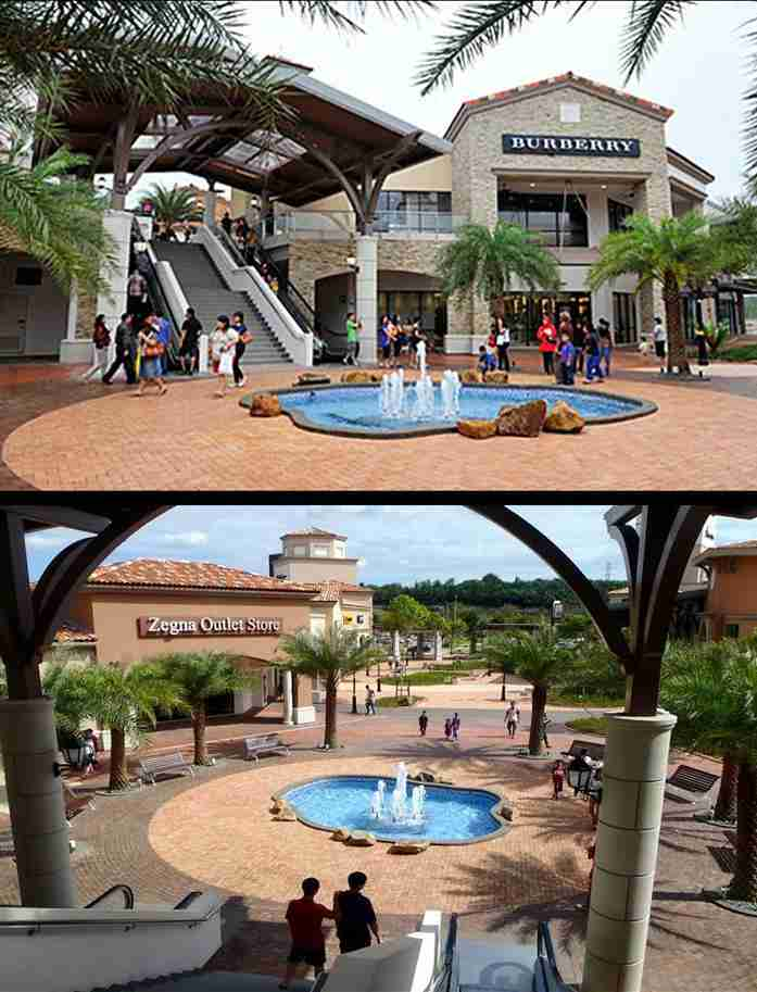 Johor Premium Outlets fountain