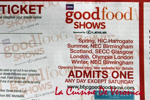 La Cuisine De Veronica BBC Good Food Shows 2015