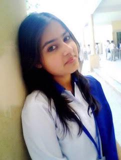 cute Pakistani college girl