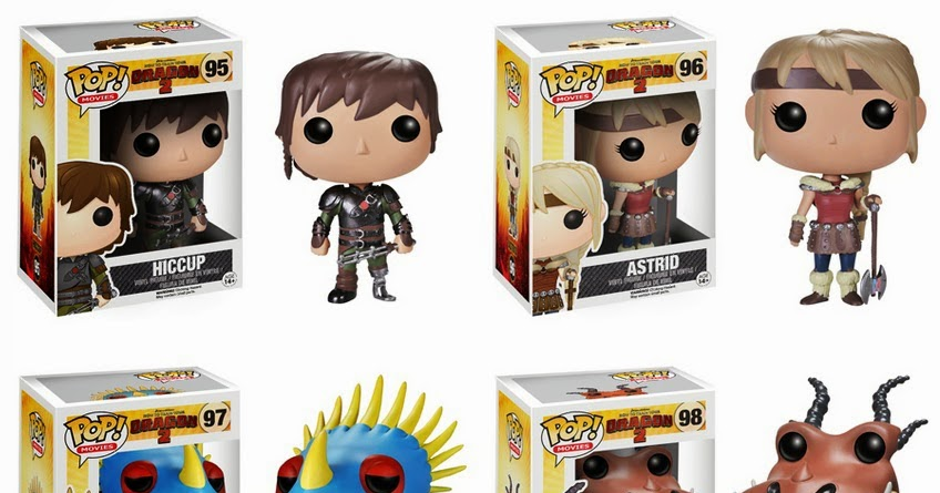 how to train your dragon funko pop