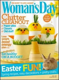 womand day april magazine cover