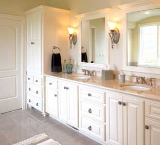 Beaux R'eves: Master Bath Remodel~Finding the Right White