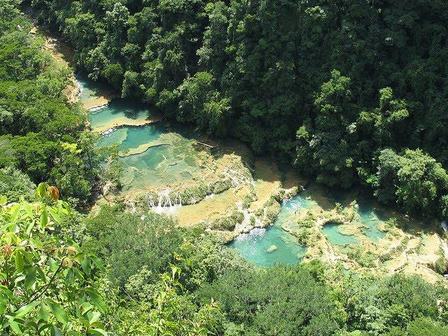 Οι πέντε φυσικές πισίνες του ποταμού