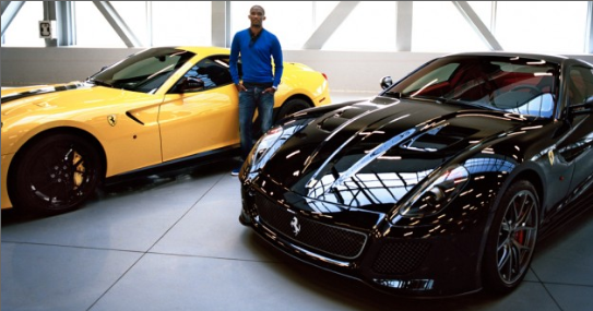 Samuel Eto'o spends £4million to acquire four exotic cars