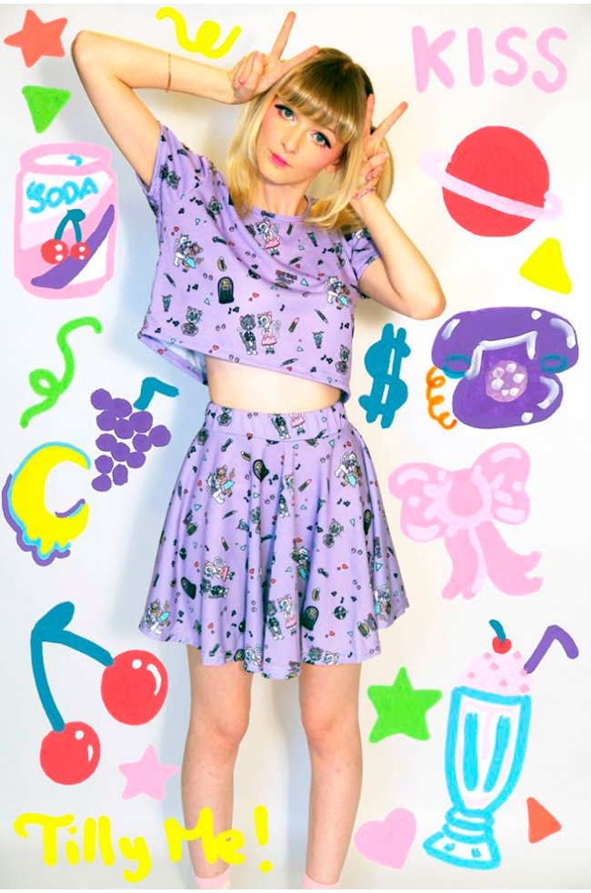 Tilly Me, Fashion, Kawaii prints