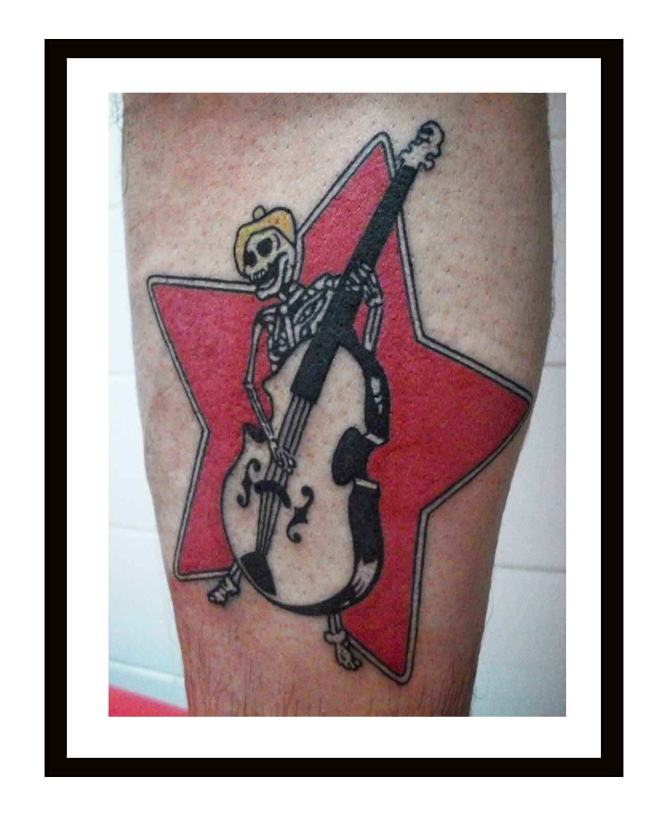 SKELETON- BASS-PLAYER-TATTOO