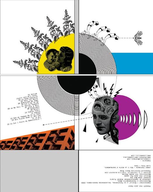 """Diseño para el cd de Liannallull """"Cap de Trons"""" 2009"""