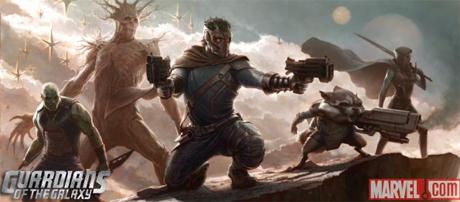 Guardianes de la Galaxia en Iron Man 3