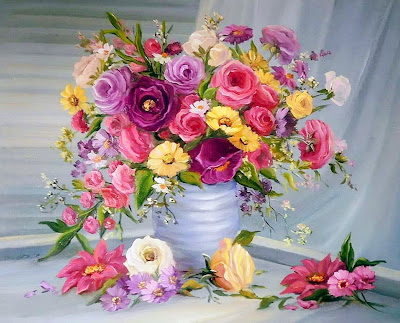 imagenes-de-flores-pintura