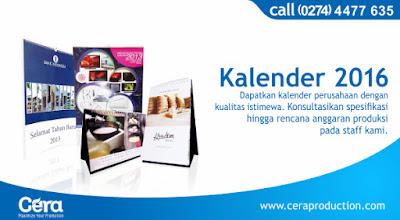 Media Promosi Kalender 2016 Sebagai Media Promosi