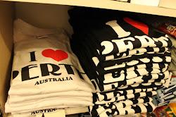 t-shirt I Love Perth untuk dimenangi!