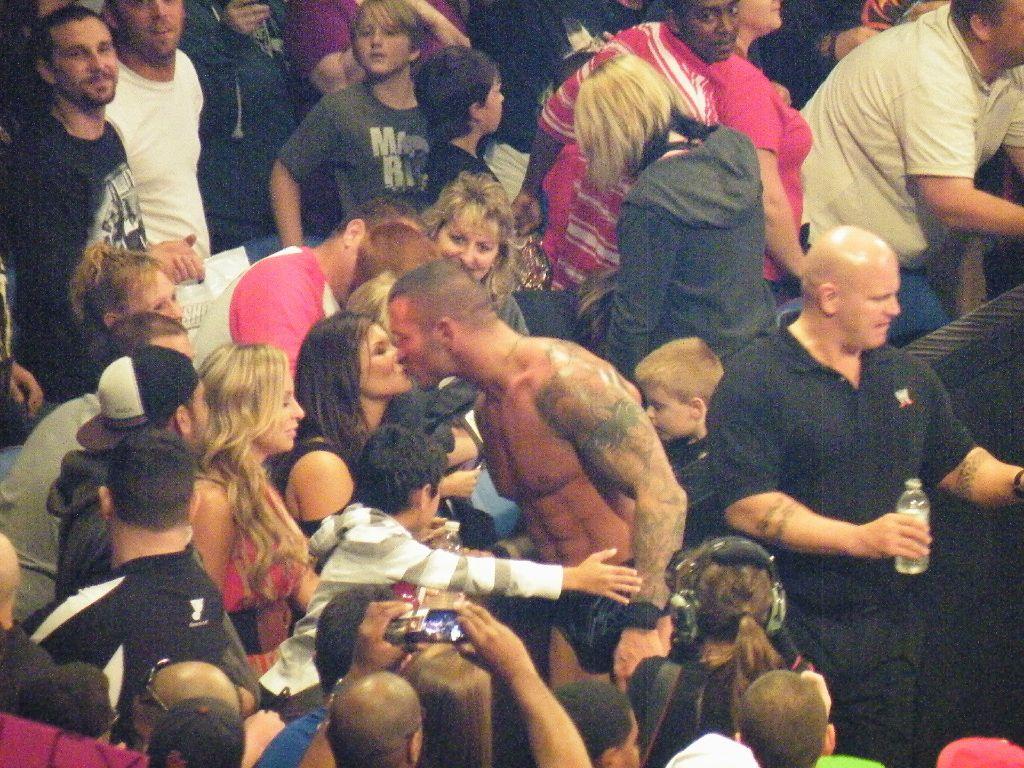 WWE Randy Orton Wife Samantha Orton 2012Wwe John Cena And Randy Orton