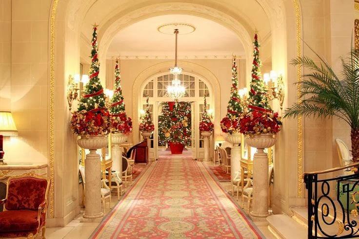 Новогодний декор зал
