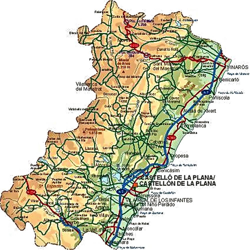 castelln de la plana men Castellón de la plana (cooficialmente [4] y en valenciano castelló de la plana) es una ciudad y municipio español.