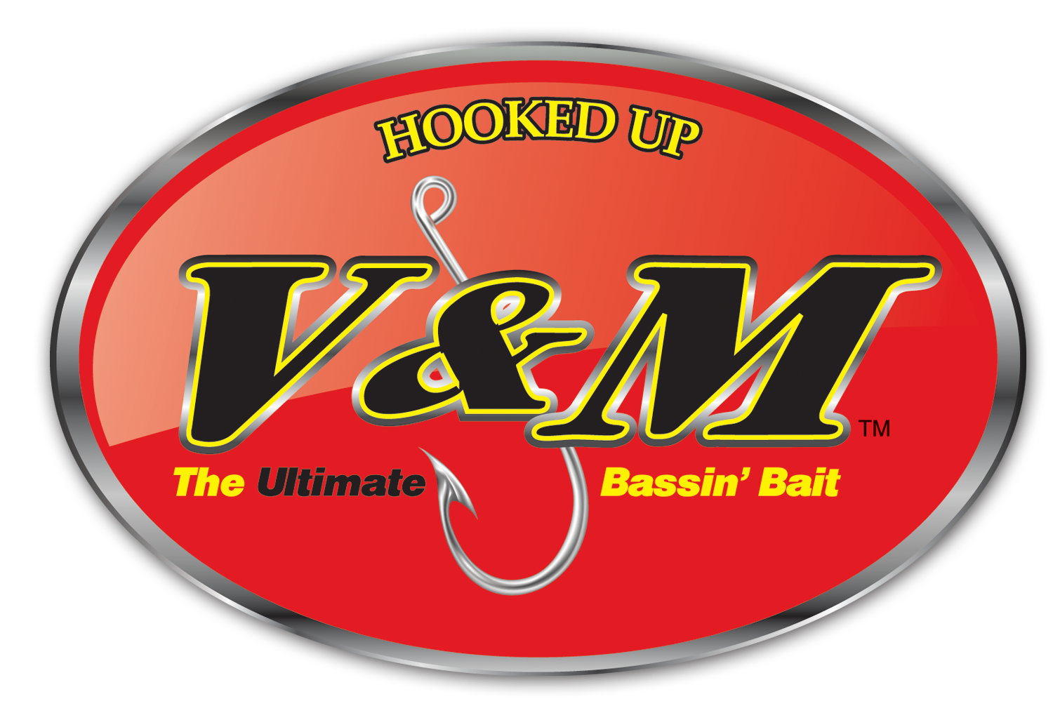 Image result for v&m lures logo