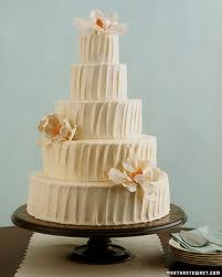 Martha Stewart White Chocolate Wedding Cake