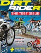 Dirt Rider Magazine cover