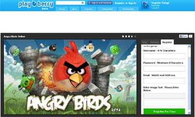 Playberry Social Gaming Dedicated To Your Browser