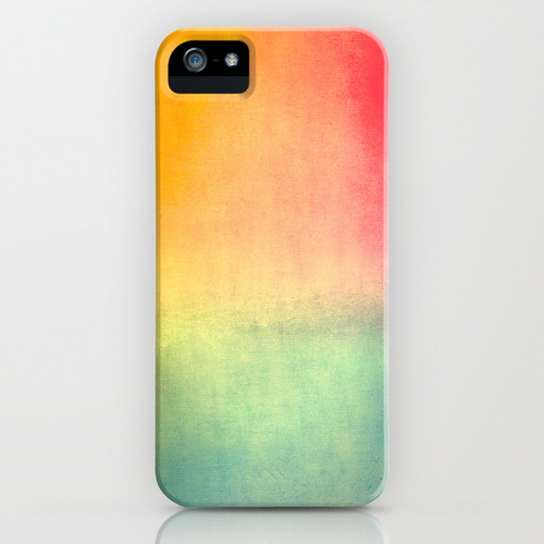 catherine masi ombre watercolor iphone case