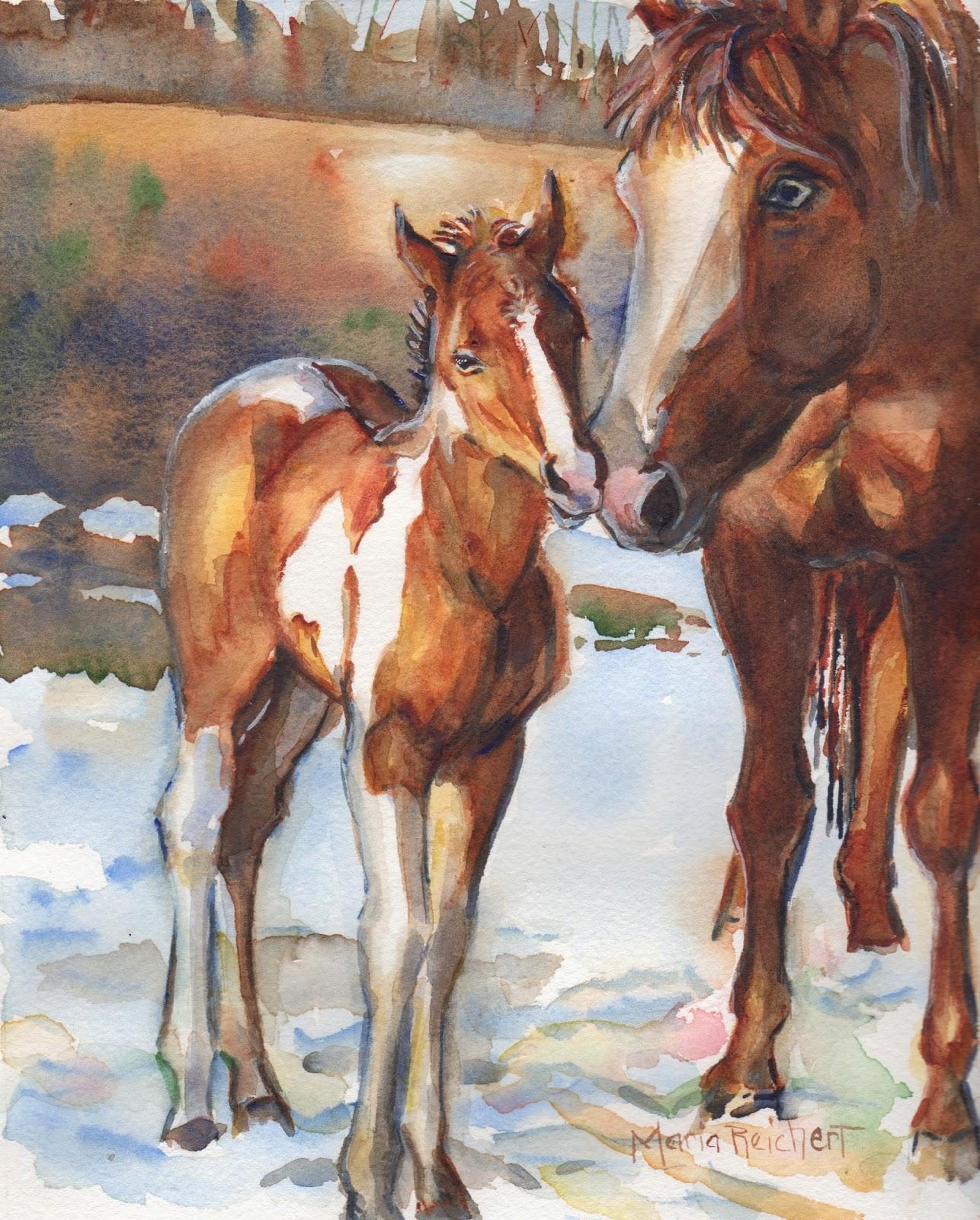 Marias Watercolor