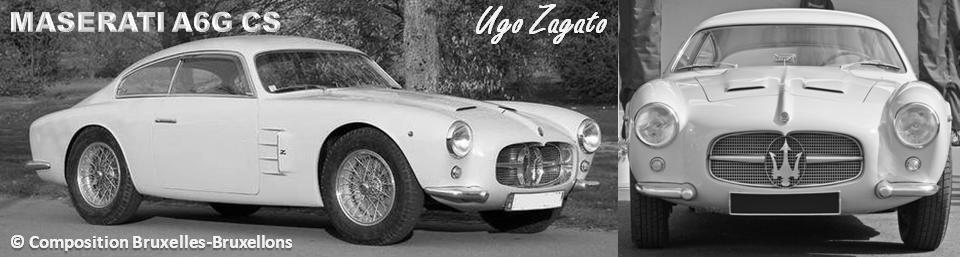MASERATI 100 YEARS - AUTOWORLD BRUSSELS -  Maserati A6G Coupé 2+2  - Design :  Ugo Zagato - Bruxelles-Bruxellons