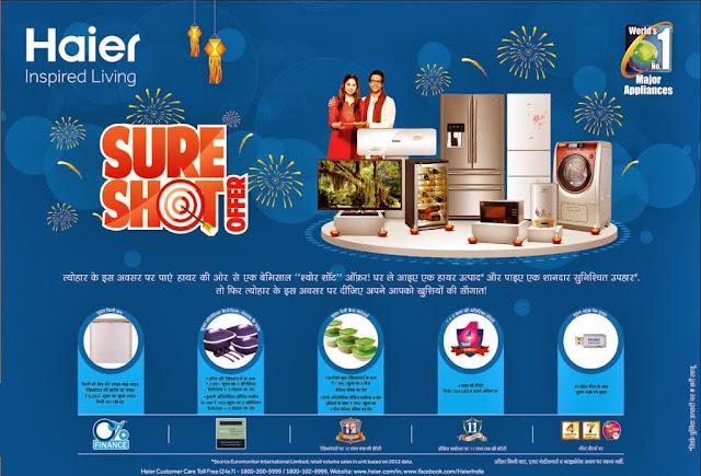 Haier Diwali Offers 2013