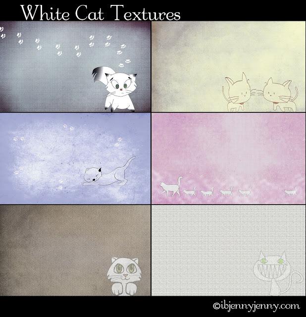 white cat textures