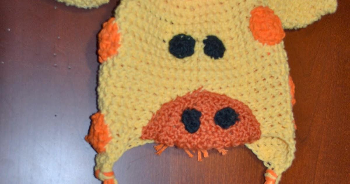Free Crochet Pattern For Giraffe Hat