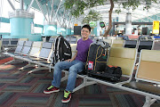. departure terminal at SoekarnoHatta airport, because the terminal was . (soekarno hatta)