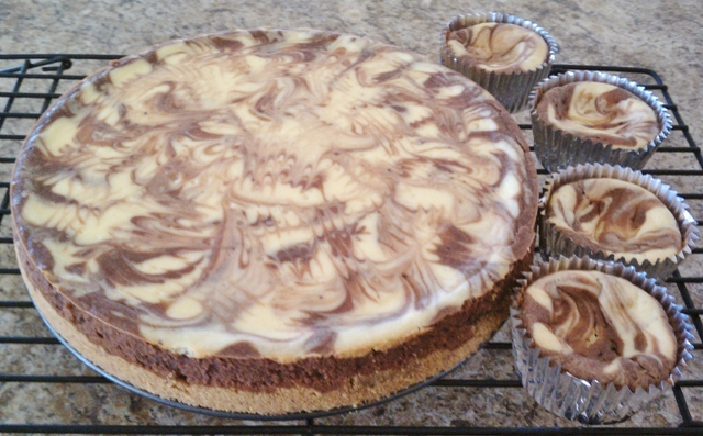 Gino Cofacci's Chocolate Rum Cheesecake Recipe — Dishmaps