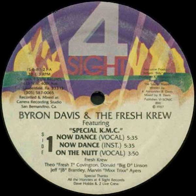 Byron Davis And The Fresh Krew – Now Dance / Down With It (1987, VLS, 192)