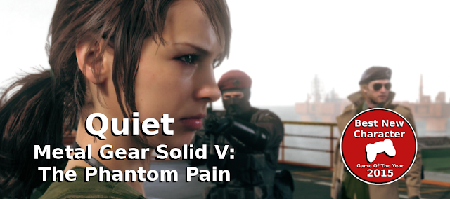 quiet metal gear solid v best new character of 2015 gamedropzone