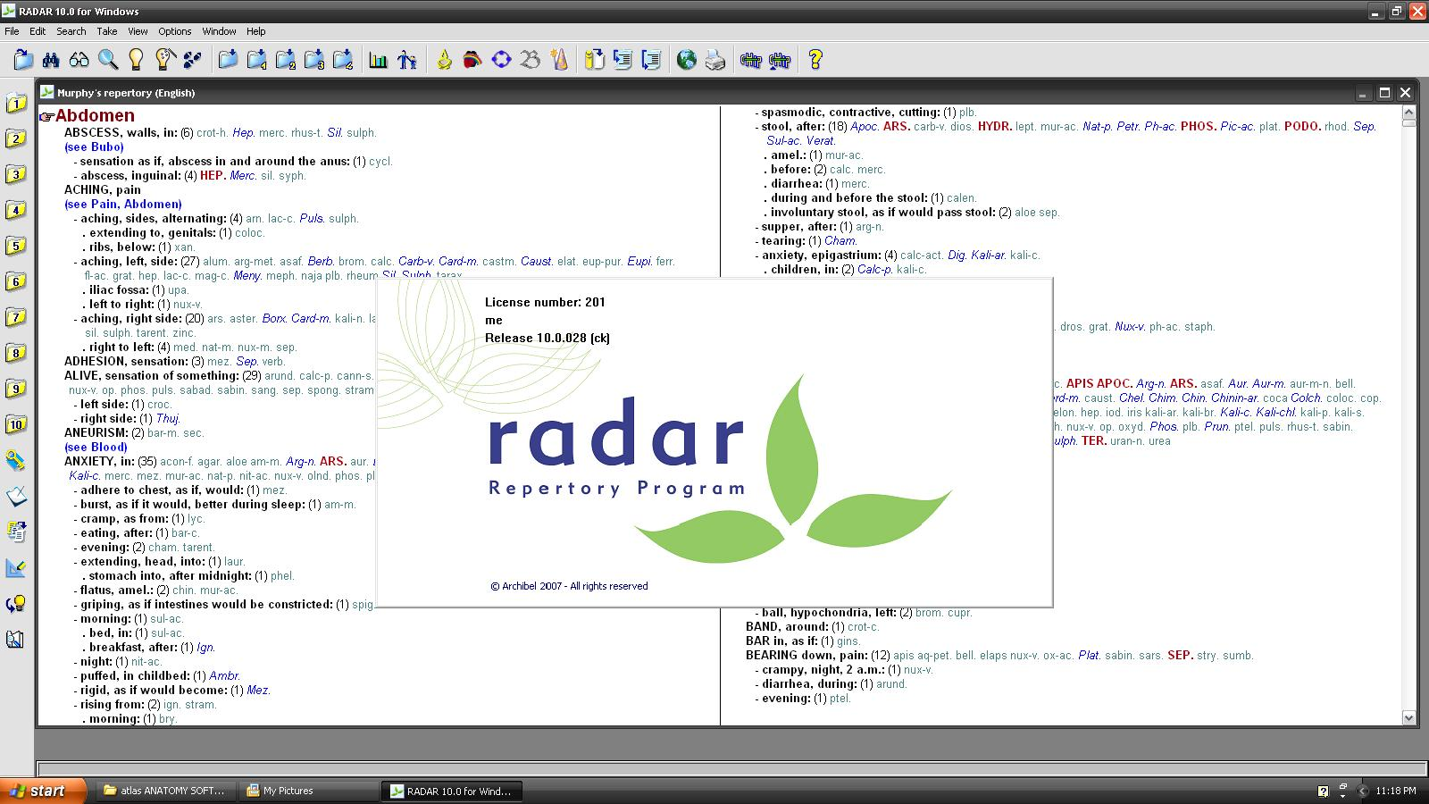 radar 9.0 homeopathic medical software crack