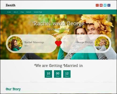 Zenith Free WordPress Theme